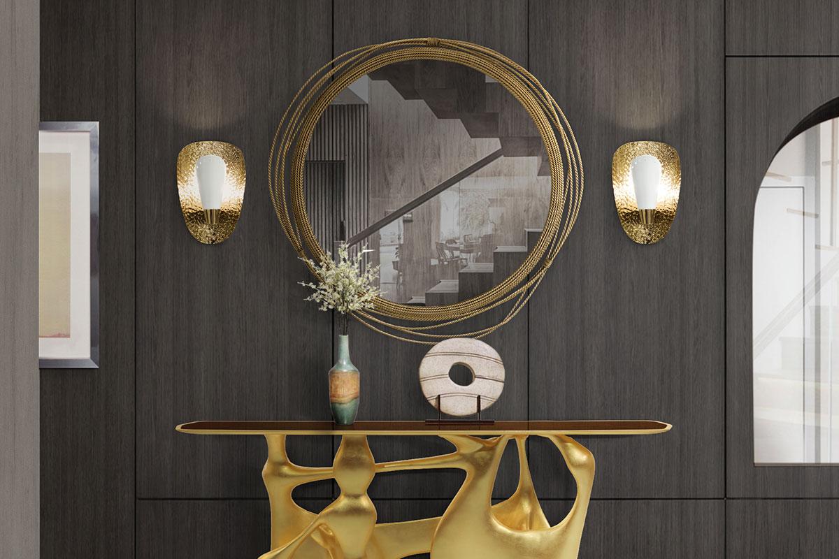 KAYAN Round Mirror