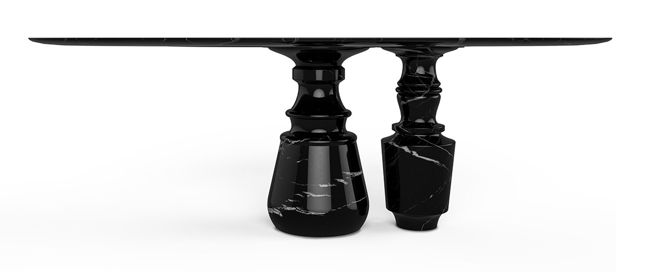 Pietra Oval Dining Table